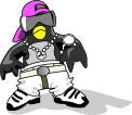 Pingouin hop rose combattant